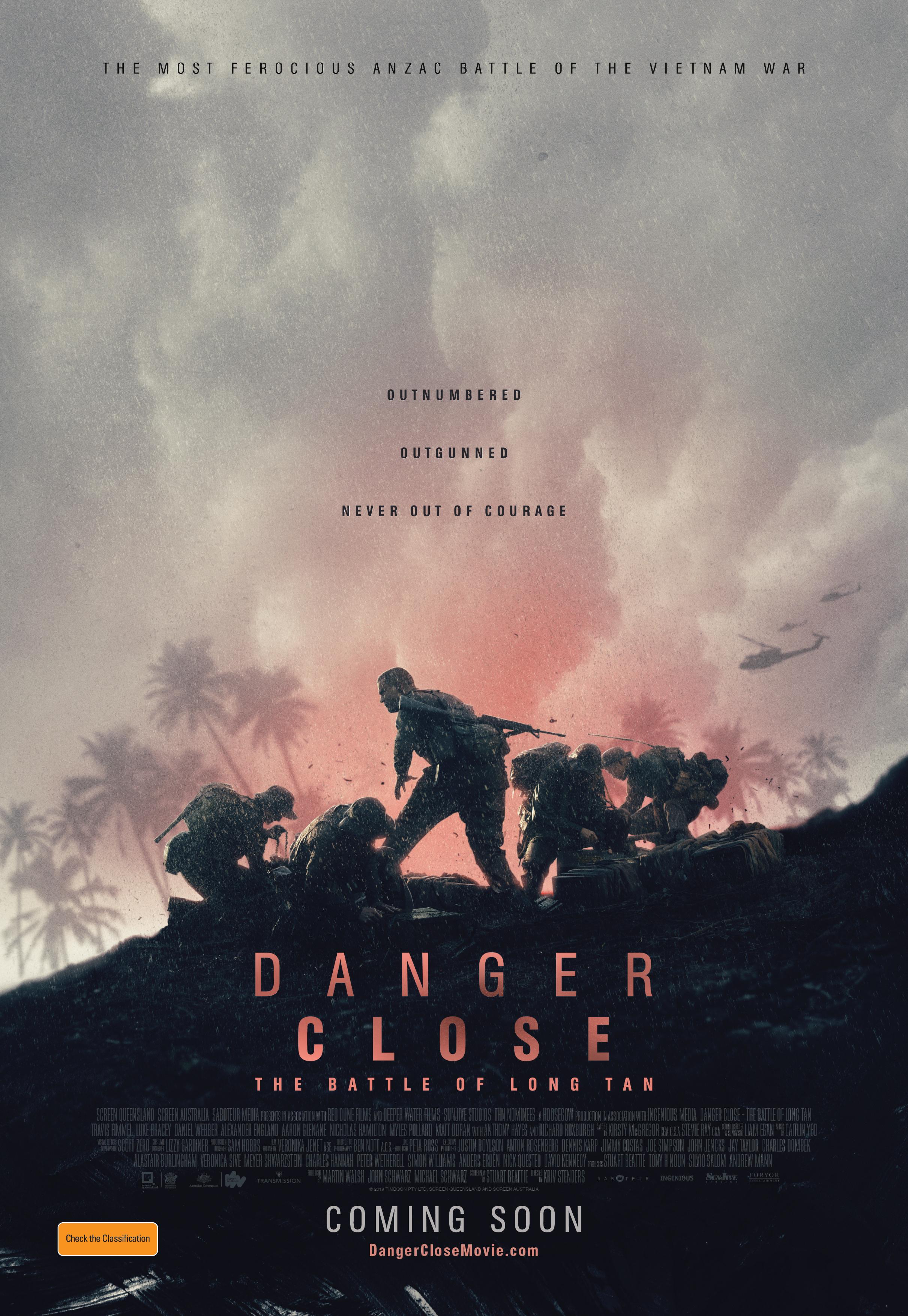 DANGER CLOSE: The Battle of Long Tan Movie - Red Dune Films